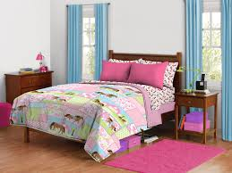 girls twin size bed bedroom smooth girls horse bedding for unique animals themes
