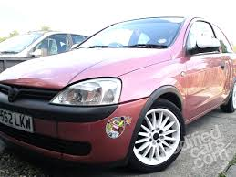 vauxhall pink view of vauxhall corsa 1 0 i 12v photos video features and