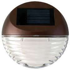 Mini Outdoor Lights Moonrays Solar Bronze Outdoor Intergated Led Mini Deck Light