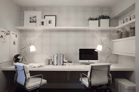 Home Office Double Desk by 28 Creative Open Shelving Ideas Freshome Com