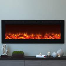 moda flame cynergy 60 in xl log electric recessed built in