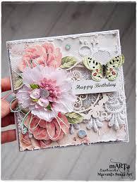 handmade happy birthday card birthday wishes 3d by maremismallart