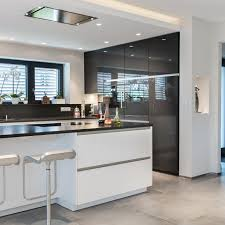 cuisine siematic sleek modern black and white siematic kitchen in an energy