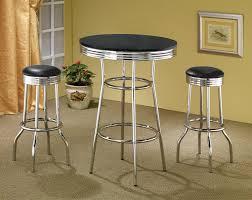 coaster fine furniture 2405 2408 cleveland soda fountain bar table set