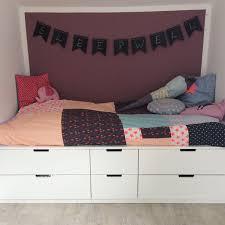 Ikea Schlafzimmer Online Einrichten Bett Auf Nordli Kommoden Ikeahacks Kinderzimmer Pinterest