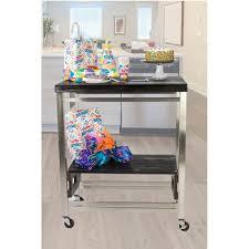 Folding Kitchen Island Cart Oasis Folding Kitchen Islands U0026 Carts Kitchensource Com