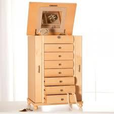Dresser Top Jewelry Armoire Unfinished Jewelry Armoire U2013 Abolishmcrm Com