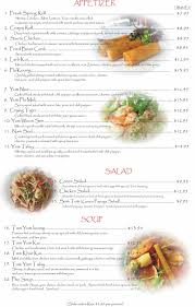 cuisine dinner restaurant dinner menu mekong cuisine