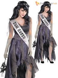 ladies homecoming corpse costume adults zombie prom queen