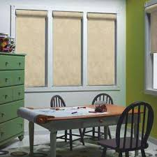 Drop Down Blinds Blackout Roller Shades Shades The Home Depot