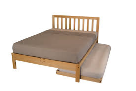 unfinished platform bed with headboard the futon store and
