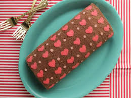 how to make patterned cake roll chocolate cake roll filled with