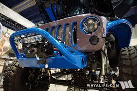 electric jeep 2016 sema show poison spyder e av jeep jk wrangler