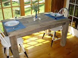 rustic dining room table 48 x 36 x 30or