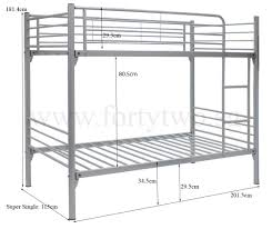 Double Decker Bed by Michelle Double Deck Bed Super Single Size Furniture U0026 Home