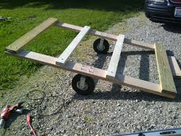 building a utility trailer for lawn mower backyard chickens