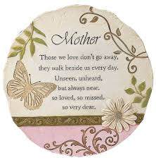 memorial stepping stones memorial stepping stones for mothers fathers grandmothers and