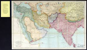 Map Of Constantinople The U0027new U0027 Great Game Map A Map Of The Countries Between