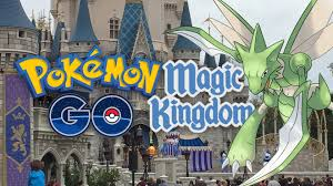 Disney World Magic Kingdom Map Pokemon Go Fun At Walt Disney World U0027s Magic Kingdom Youtube