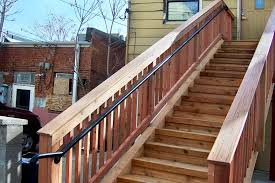 Stairway Banisters And Railings Railing Denver Colorado Deck Patio Stair Railing