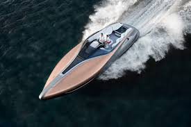 lexus southampton uk pictures lexus reveals its first sport yacht concept ybw