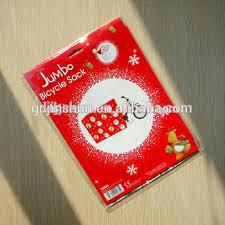 merry santa claus pattern jumbo bicycle bike sack gift