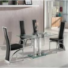 Glass Dining Room Furniture Dining Room Table And Chairs Uk Furniture In Fashion