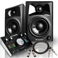 Best Bedroom Audio Interface M Audio M Track 2x2m Audio Interface With Av32 Monitors Pro