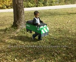 Halloween Costumes 5 Boy Cool Homemade Costume Boy Burlington Northern Diesel Train