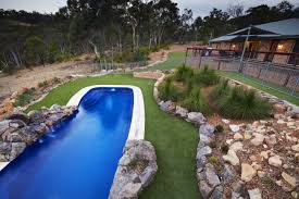 12m barrier reef fibreglass swimming pools ocean shimmer