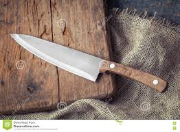 big kitchen knife stock photo image 73674258