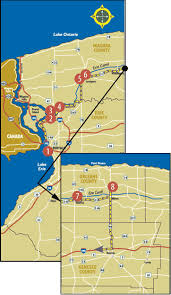 map of the erie canal driving tours erie canal tour