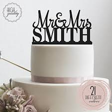 personalized wedding cake toppers personalized wedding cake topper