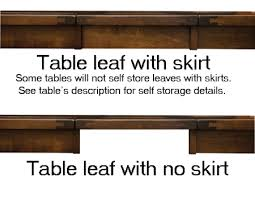 Amish Furniture Factory Blog Learning  Loving Amish - Dining room table leaves
