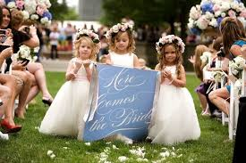 flower girl wedding tips handling kids in your wedding