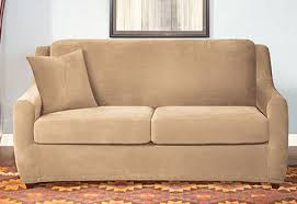 Slipcovered Sleeper Sofa Sure Fit Category