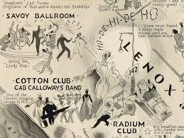 picture of harlem nightclub map harlem renaissance pinterest