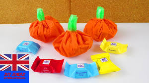 halloween pumpkin bag diy halloween candy bag make your own mini pumpkin super easy