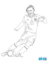 andrea pirlo coloring pages hellokids com