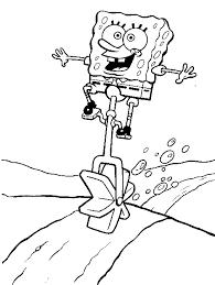 sponge bob coloring pages coloring pages kids