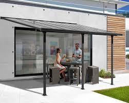 tettoie per terrazze tettoia alluminio per terrazzo tt 3050 al decogiardino