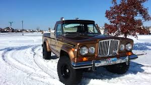 jeep truck 1980 1978 jeep honcho in the tx snow youtube