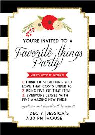 christmas cocktails invite favorite things invite make and do pinterest favorite things