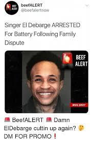 Battery Meme - beefalert beef alert beefalertnow singer el debarge arrested for
