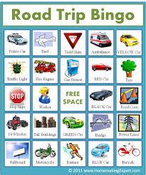 free printable travel bingo cards for kids frugal york county