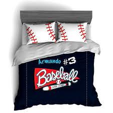 Customized Duvet Covers Personalized Baseball Bedding Set Custom Duvet Or Comforter Sets