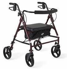 Transport Walker Chair Rollator Transport Chair Mobility Equipment Ebay