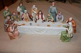 home interior jesus figurines collector items home interior supper jesus figurines