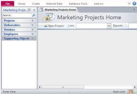 database template desktop marketing project management database template for access