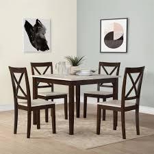 andover mills tilley rustic 5 piece dining set u0026 reviews wayfair